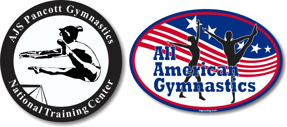 Car Magnets for Gymnastics Teams