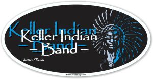 Keller High School Band car magnet