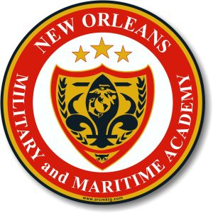 New Orleans Military and Maritime Academy car magnet