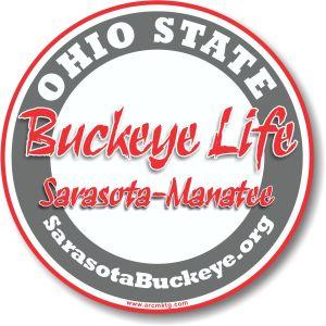 Ohio State Alumni car magnet