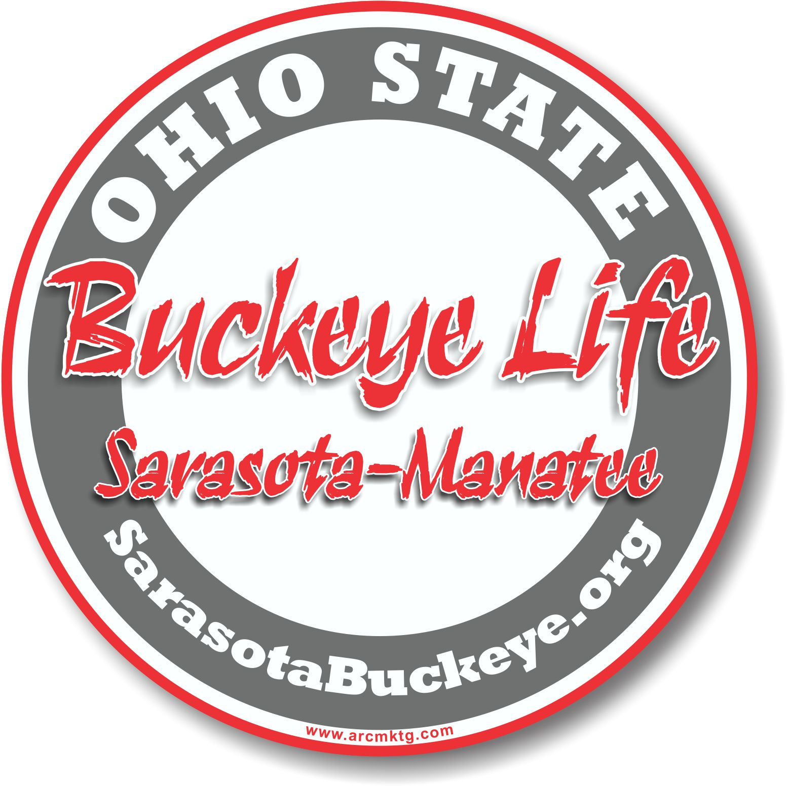 Ohio State Alumni car magnet