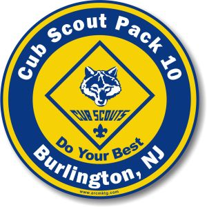 Cub Scout Car Magnets
