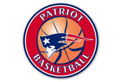 Patriot Basketball car magnet
