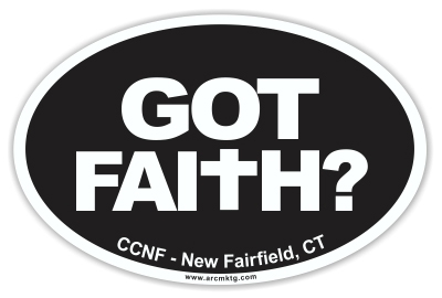 Church Car Magnets For Fundraising ARC Marketing Inc - Custom car magnets oval   promote your brand
