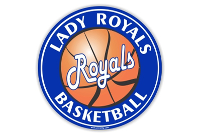 Lady Royals Basketball car magnet