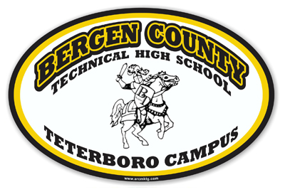 Bergen County Technical High School Car Magnet