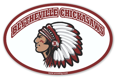 Blytheville Middle School Car Magnet