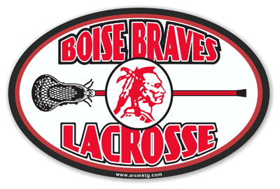 Boise High School Car Magnet