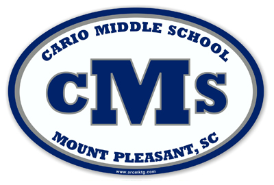 Cario Middle School Car Magnet