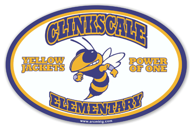 Clinkscale Elementary School Car Magnet