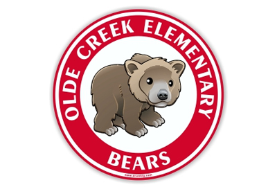 Olde Creek Elementary School Car Magnet