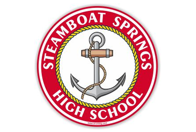 Steamboat Springs High Car Magnet
