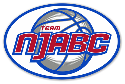 Team NJABC Basketball car magnet