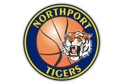 Northport Tigers Basketball car magnet