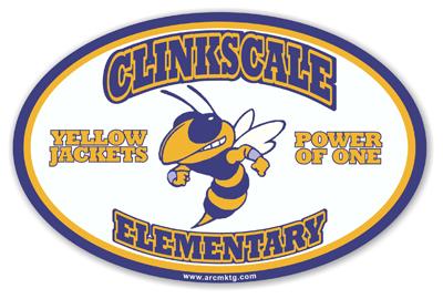 Clinkscale Elementary School Car Magnet