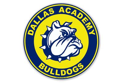 Dallas Academy Car Magnet