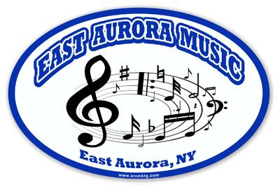 East Aurora High School Car Magnet