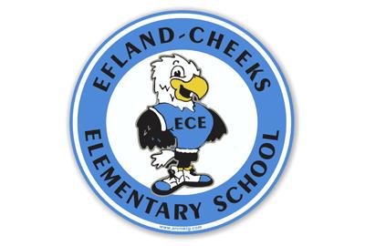 Effland-Cheeks Elementary School Car Magnet