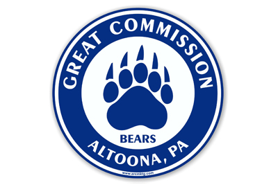 Great Commission School Car Magnet
