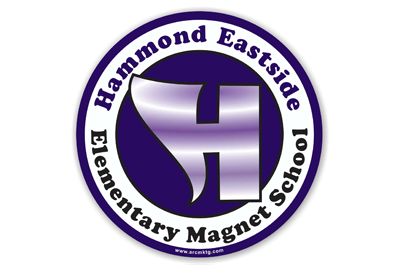 Hammond Eastside Elementary School Car Magnet