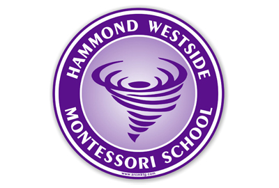 Hammond Westside Montessori School Car Magnet