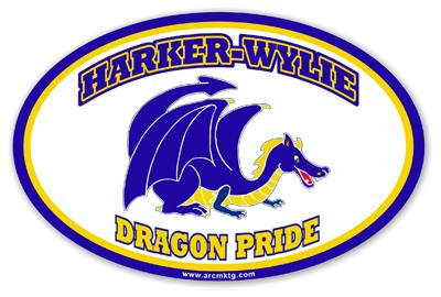 Harker-Wylie Elementary School Car Magnet