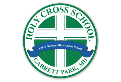 Holy Cross School Car Magnet