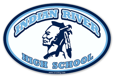 Indian River High School Car Magnet