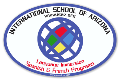 International School of Arizona Car Magnet
