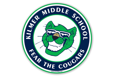 Kilmer Middle School Car Magnet