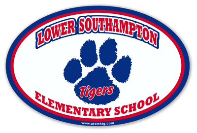 Lower Southampton Elementary School Car Magnet