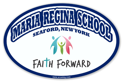 Maria Regina School Car Magnet