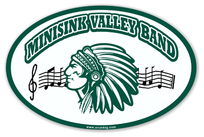 Minisink Valley High School Car Magnet