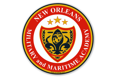 New Orleans Military Academy Car Magnet