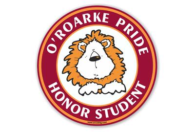 O'Roarke Elementary School Car Magnet