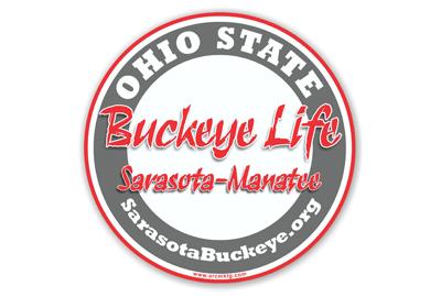Ohio State University Car Magnet