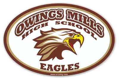 Owings Mills High School Car Magnet