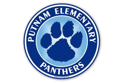 Putnam Elementary School Car Magnet