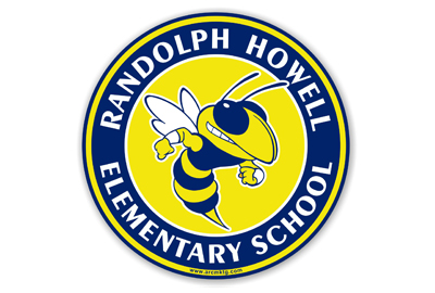 Randolph Howell Elementary School Car Magnet