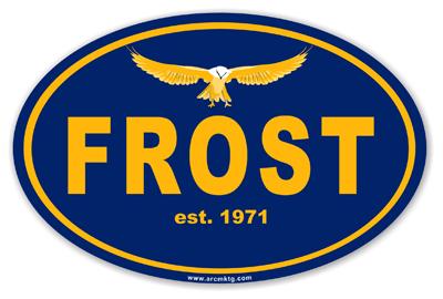 Robert Frost Middle School Car Magnet