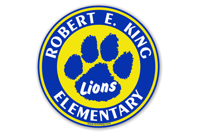 Robert King Elementary School Car Magnet
