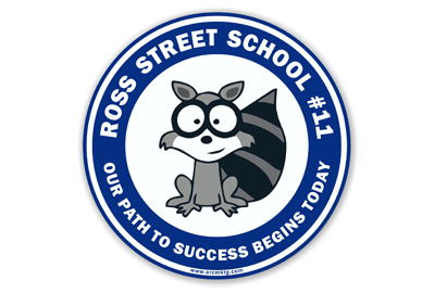 Ross Street School Car Magnet