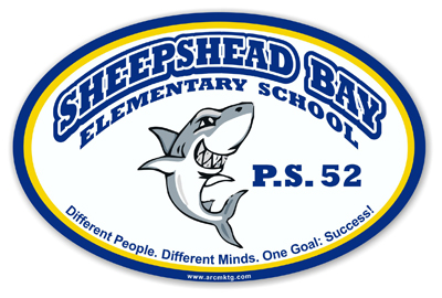 Sheepshead Bay Elementary School Car Magnet