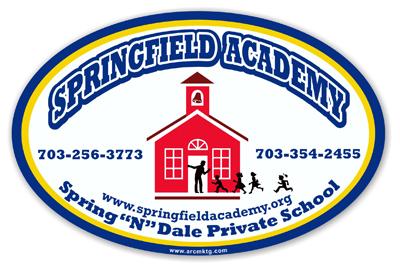 Springfield Academy Car Magnet