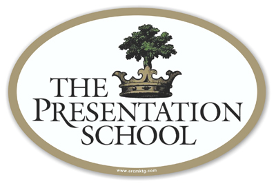 The Presentation School Car Magnet