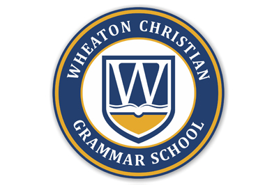 Wheaton Christian Grammar School Car Magnet