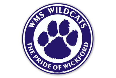 Wickford Middle School Car Magnet