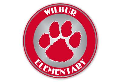Wilbur Elementary School Car Magnet