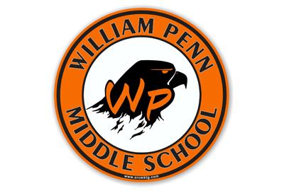William Penn Middle School Car Magnet
