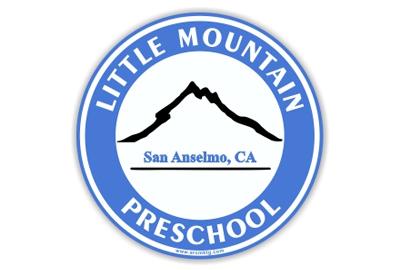 Little Mountain Preschool Car Magnet